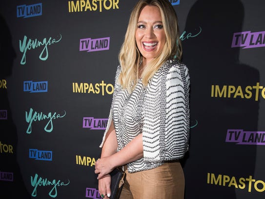 Hilary Duff attends the season premiere party for TV