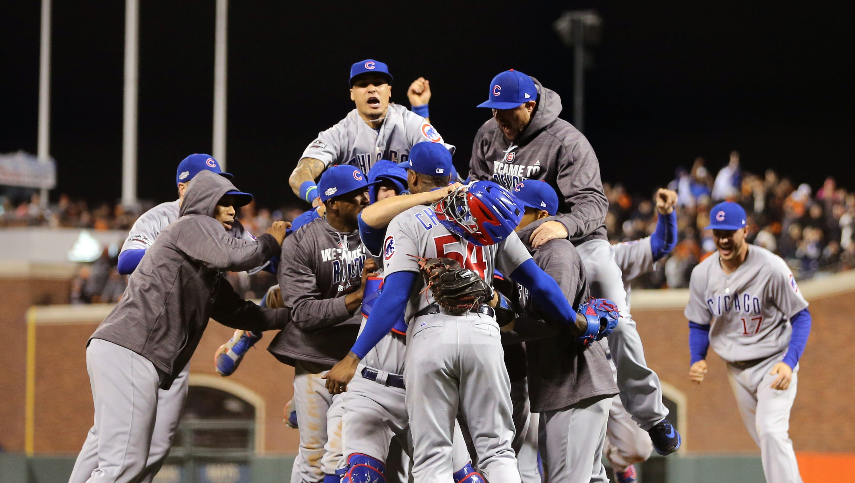 Cubs rally in ninth, eliminate Giants to advance to NLCS