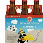 New Belgium and Ben & Jerry's are teaming up for ice cream beer.