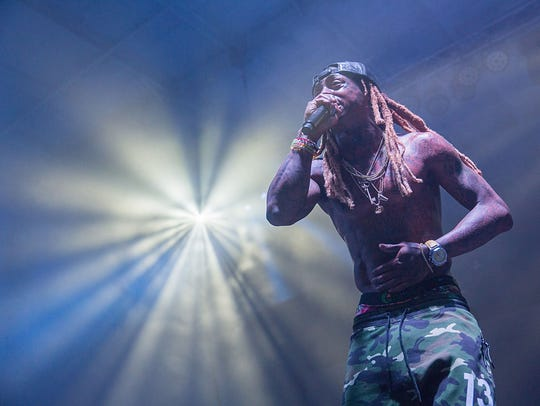 Lil Wayne takes the stage at the Bud Light Party Convention
