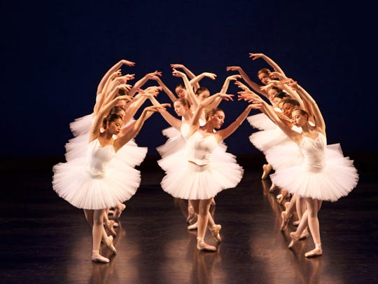 """VRDT dancers are show in """"Swan Lake,"""" Act II."""