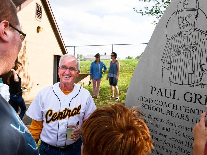 Retired long time Central High baseball coach Paul