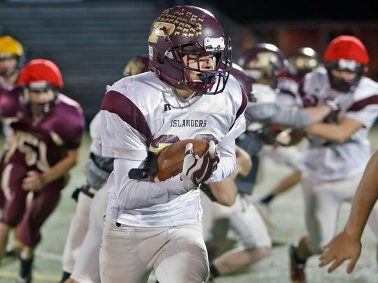 Sophomore Bailey Green is the leading rusher for Poquoson with 846 yards on 96 carries, and has scored 10 TDs