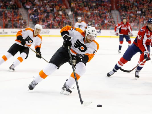 NHL: Philadelphia Flyers at Washington Capitals