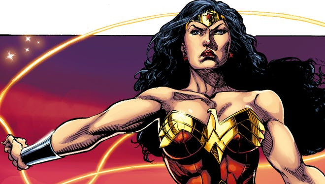 """Different writers and artists get a chance to take on DC Comics' powerful Amazonian princess in """"Sensation Comics Featuring Wonder Woman."""""""