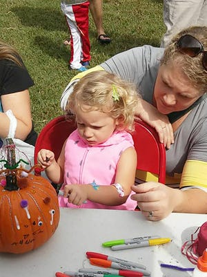 Fairview's 2017 Fall Fun Day in Bowie Nature Park September 20, 2017.