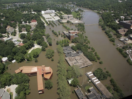 Iowa scientists warn events like the 2008 flood are going to be more common in the future, and communities must act now to design buildings that are strong enough to withstand them.