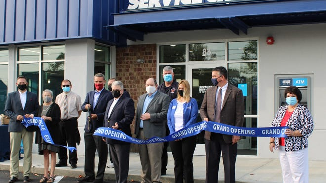 Service Credit Union's grand opening of its new Rochester branch.