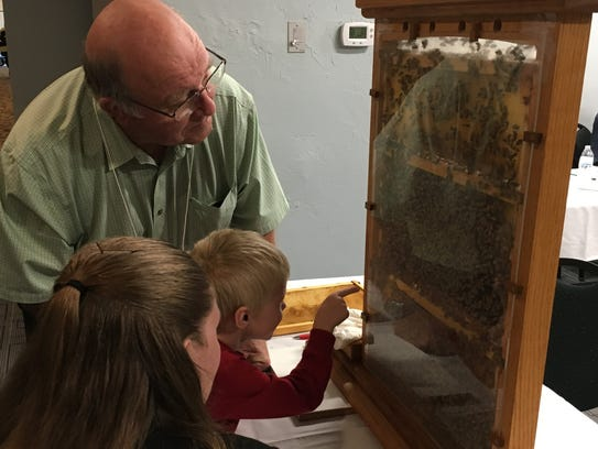 Kids & Bees Expo that attracted families from around