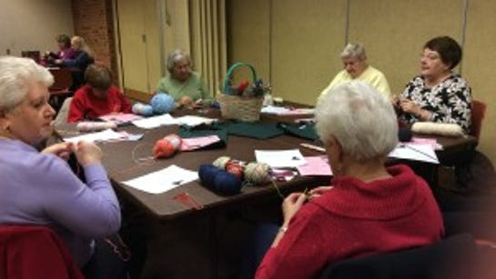 This is a shot of one of our original meetings in Bridgewater.