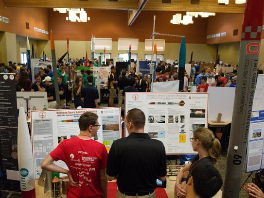 A total of 91 aerospace engineering teams from around