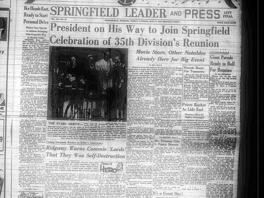 This scanned microfilm image shows the front page of