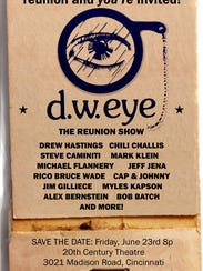 12 of the previous d.w. eye comics will gather for