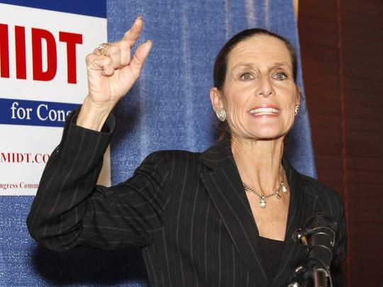 A 2008 photo of Rep. Jean Schmidt
