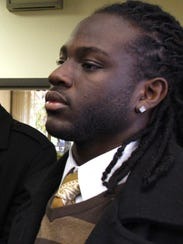 Desmond Hinds in 2010 photo. Hinds was a friend and teammate of Danroy Henry, who was fatally shot by Pleasantville police Officer Aaron Hess on Oct 17, 2010.