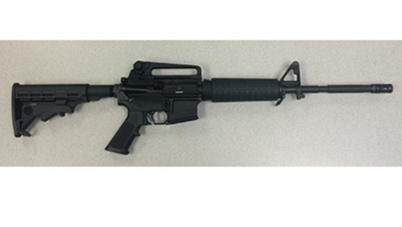 A Bushmaster XM-15, commonly called an AR-15-style