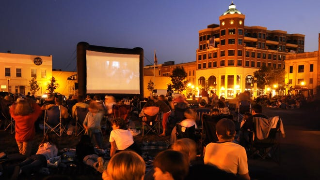 "The 400 block of downtown Wausau will be transformed into an outdoor theater on Friday for the showing of ""Big Hero 6"" during the final Screen on the Green event of the summer."