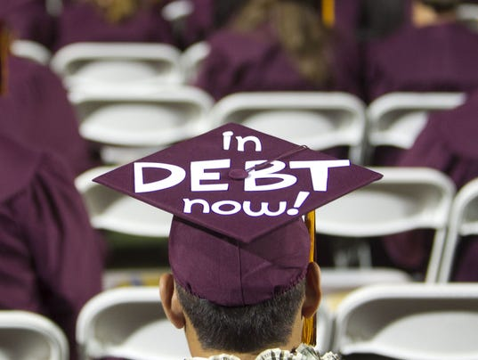 No. 3 - ASU undergraduates' debt is nearly $10,000 lower than the national average