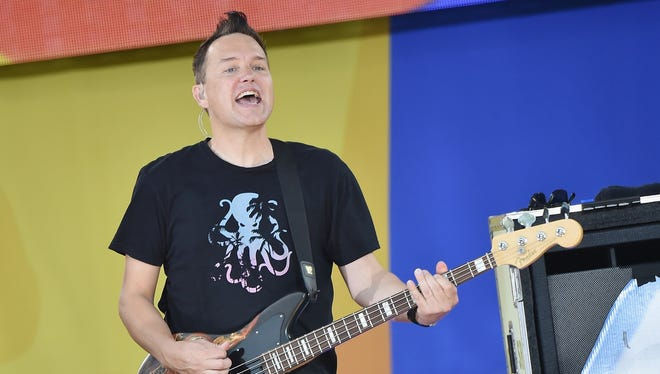 Mark Hoppus will perform with Blink-182 on Sept. 10 at Klipsch Music Music.