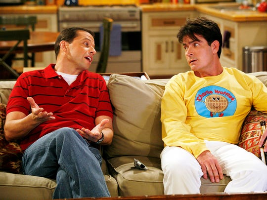 A 2008 episode of 'Two and a Half Men' with Jon Cryer