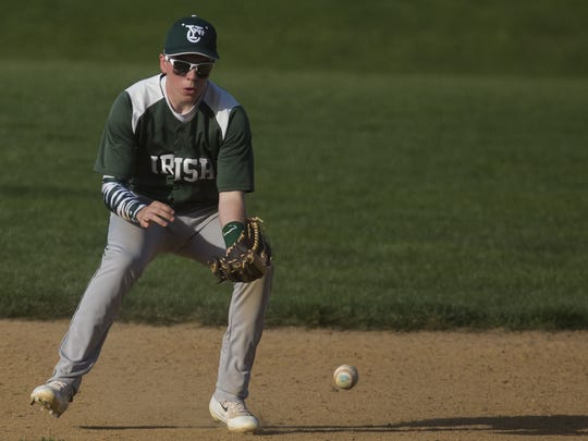 Dillon Hippensteel will man second base for York Catholic this season.