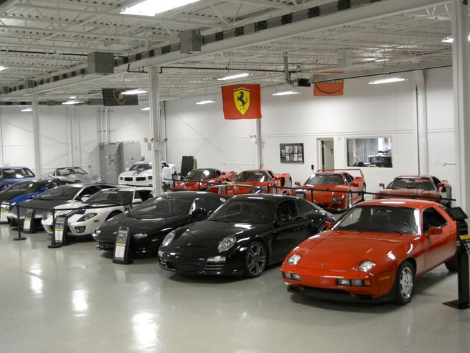 The Lingenfelter Collection in Brighton.