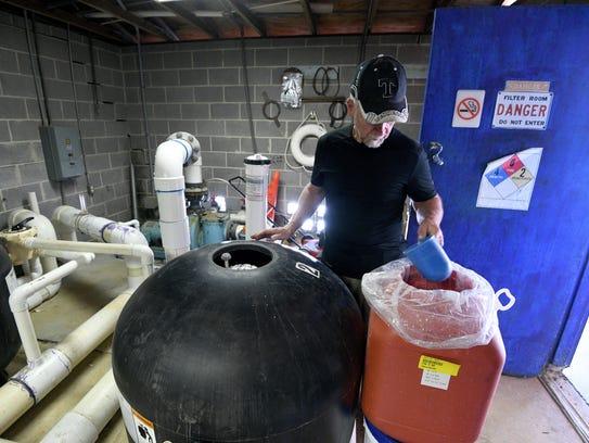 Volunteers like Bob Ritter have helped clean and repair