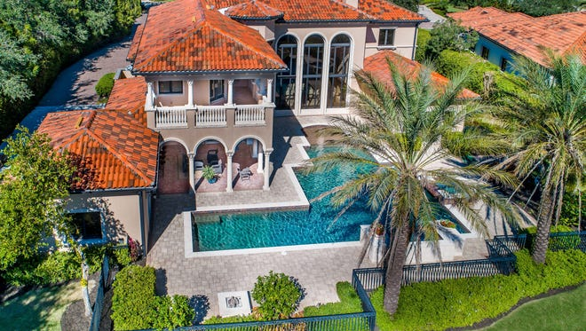 Home once owned by PGA golfer Rocco Mediate was up for estate auction through Elite Auctions.