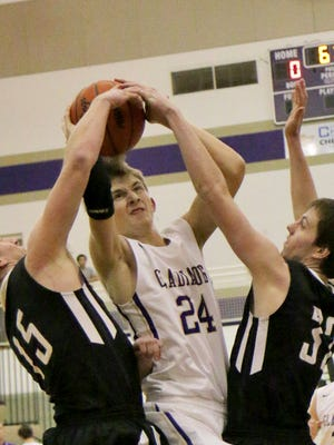Fowlerville's Sam McDowell posted 10 points and eight rebounds in a 52-43 loss Tuesday night to Haslett.