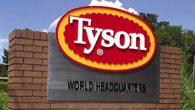 Tyson Foods sent independent hog suppliers animal welfare guidelines this week