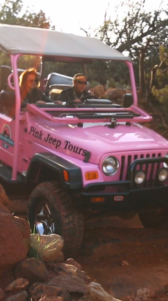 Destination Az Why Are Sedona S Pink Jeeps Pink