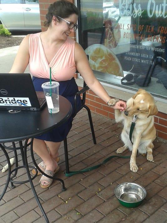 bhm dog listicle - at starbucks