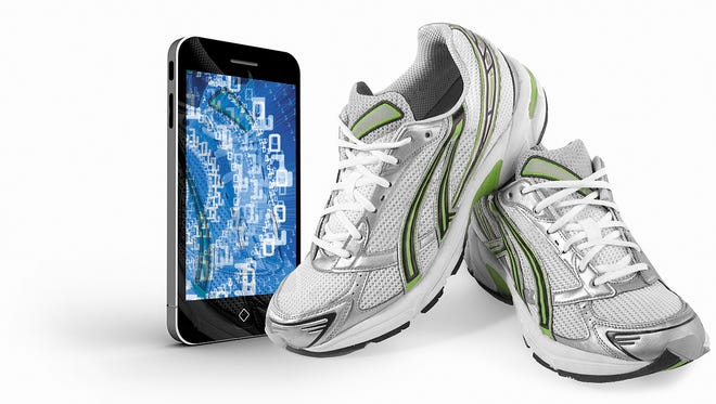 Technology such as apps that track eating and activity  can help in reaching health goals.