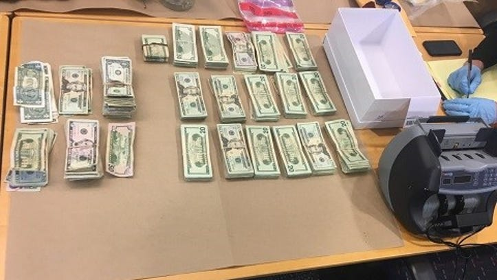 Drugs, ammo, cash found in New Castle County; 8 arrested and 1 sought