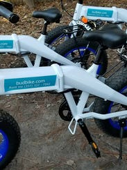 BudBikes is a new business that lets customers rent