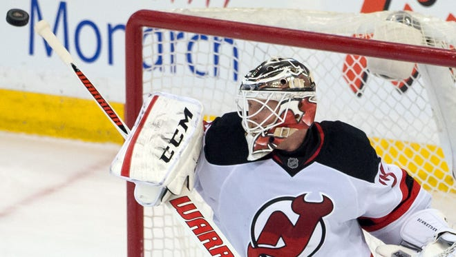 New Jersey Devils goalie Cory Schneider won't have a veteran netminder looking over his shoulder.