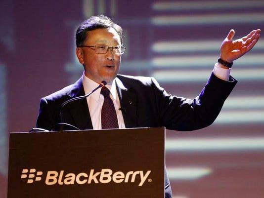 Earns BlackBerry
