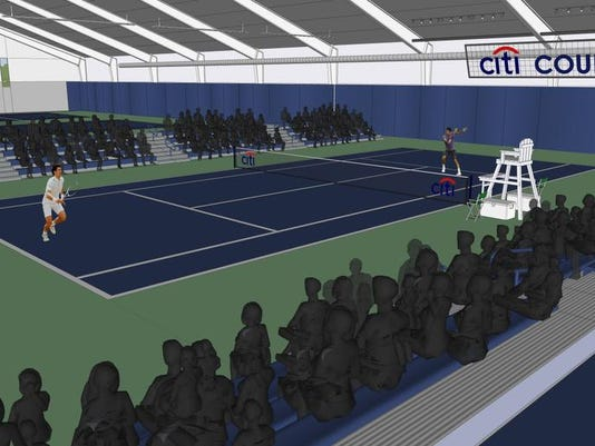 Citibank Gives 250 000 To Name Indoor Tennis Court