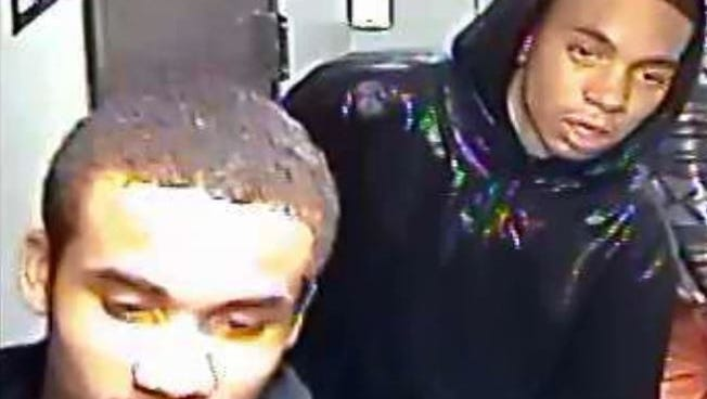 Police have released new photos of two men wanted in a September apartment robbery.