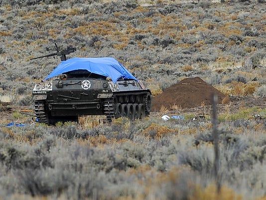 Vintage Tank Blast