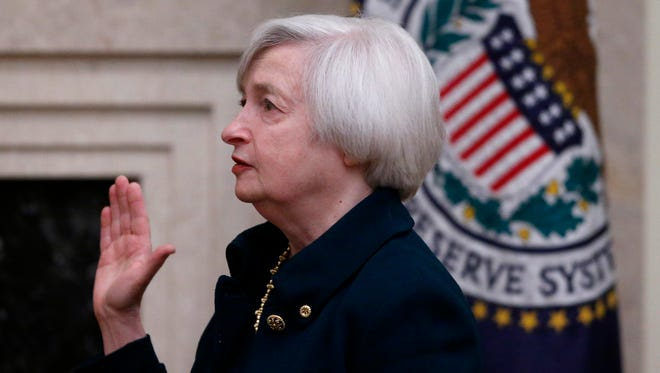 Janet Yellen., chairwoman of the Federal Reserve
