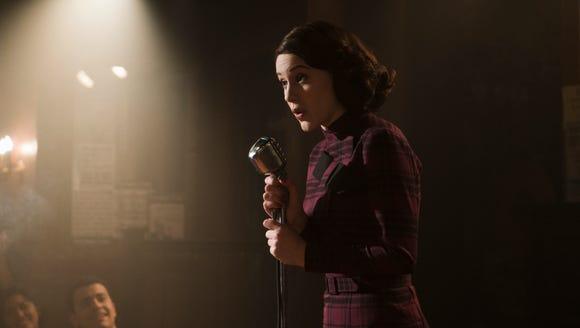 Rachel Brosnahan as Midge Maisel on 'The Marvelous
