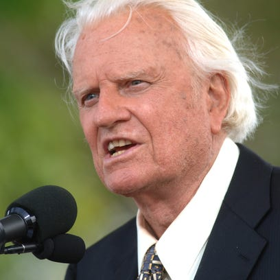 In this June 26, 2005 file photo, the Rev. Billy Graham