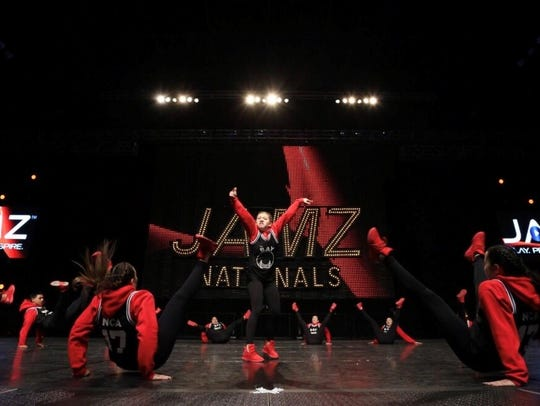 NCA Dance Studio's Youth Hip Hop team (ages 12-13)