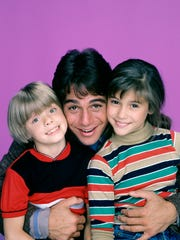 """Who's the Boss?"" cast members Danny Pintauro (left), Tony Danza and Alyssa Milano."