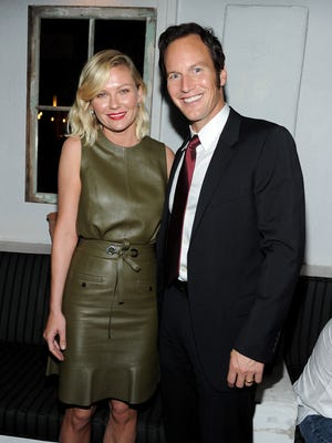 """Kirsten Dunst and Patrick Wilson attend the party following the red carpet premiere screening of FX's """"Fargo"""" at the Le Jardin on Oct. 7 in Los Angeles."""