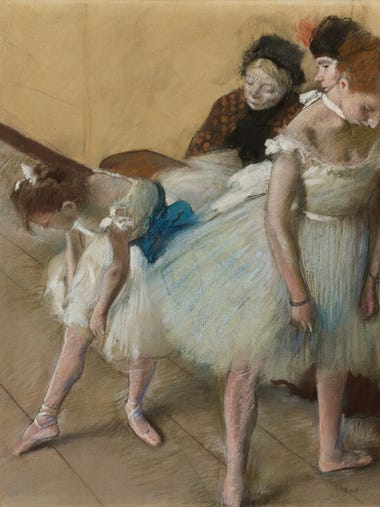 "In its only U.S. appearance, ""Degas: A Passion for"