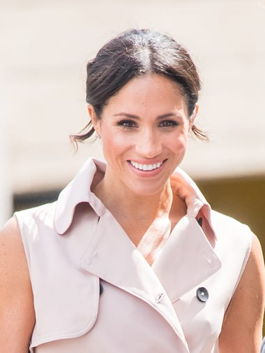 Duchess Meghan was glowing during her and Prince Harry's