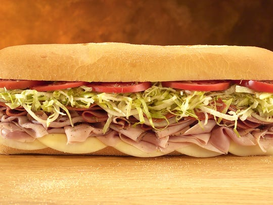 The Original Italian cold sub at Jersey Mike's Subs.