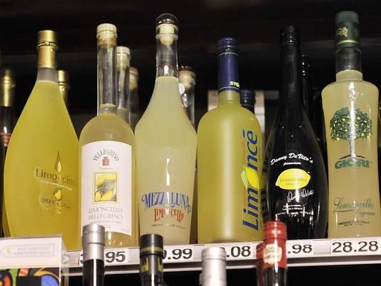 FILE-- liquor store